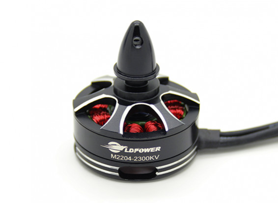 LDPOWER M2204-2300KV borstelloze Multicopter Motor (CCW)