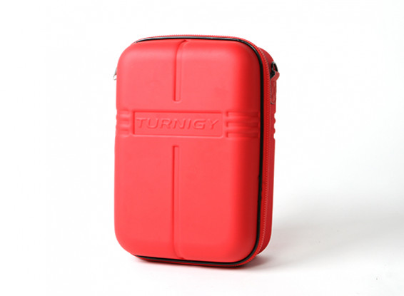 Turnigy Transmitter Case w / FPV Goggle opslag - Red