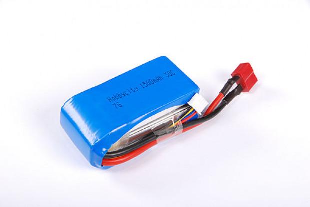 HobbyCity 1500 3s1p 20-30C LiPoly Pack w / Conn