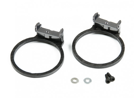 Tarot Motor Protection Set voor TL280 Carbon Fiber (grijs)