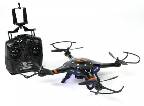 Cheerson CX-32W 2.4GHz Quadcopter w / 2 megapixel HD-camera WiFi en Mode schakelbare zender RTF