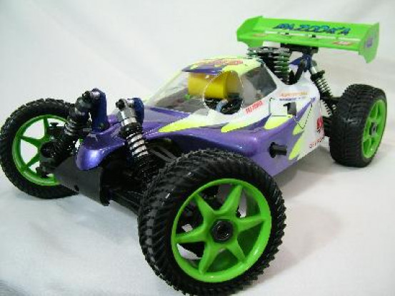 1/8 Bazooka Nitro Buggy RTR 0,21