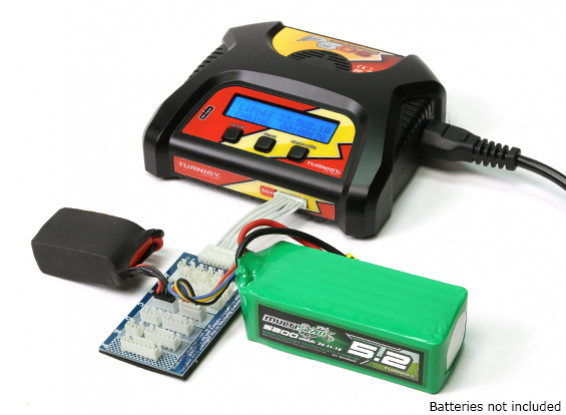 Turnigy P606 LiPoly / life AC / DC lader (EU Plug)