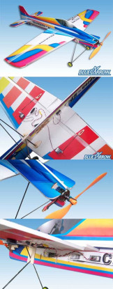 Blue Arrow Champion 3DX Shock Flyer kit (Gratis Post)
