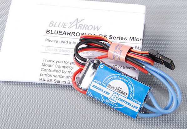 Blue Arrow 8A Brushless Controller