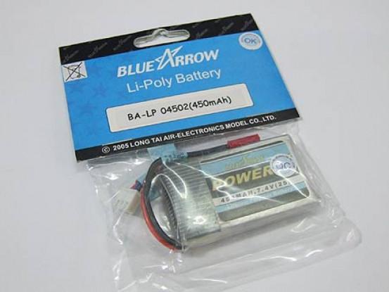 pak Blue Arrow Lipo 450mAh 2S 12C