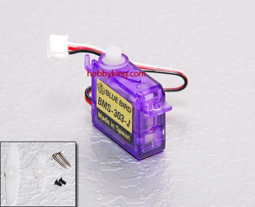 BMS-303-JST Ultra Micro Servo 0,7 kg / .11sec / 3.4g