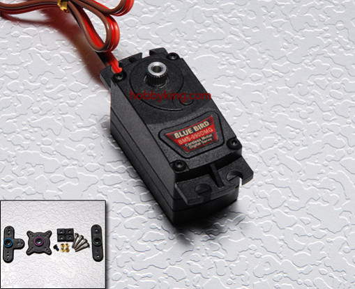 BMS-990DMG Low Geprofileerde Coreless motor Digital Servo (All Metal Gear) 9.0kg / .09sec / 45g
