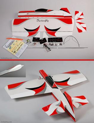 Butterfly 3D Ultra-light 3D 95% ARF w / motor en ESC