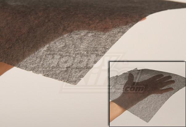 Carbon Fiber Tissue (schone 10 g / m2) 1mtr