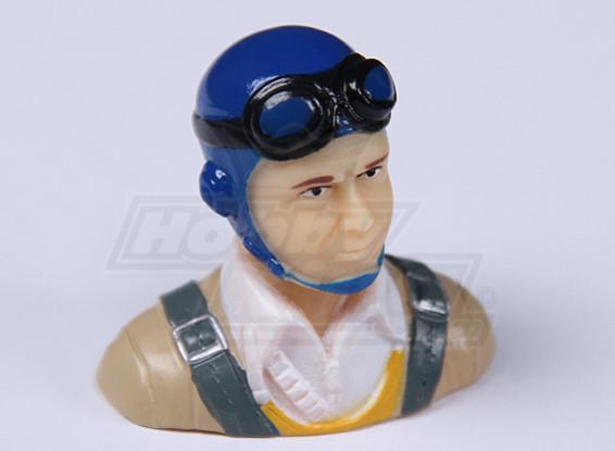 Parkfly Classic Era Pilot (Blauw) (H37 x W40 x D22mm)