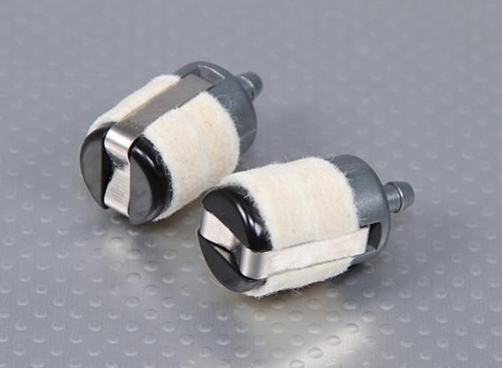 Vilt Brandstoffilter / Clunk voor gas Models (Large) (2pc)