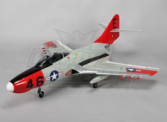 F9F-8 Cougar NGR w / Zet vrij 4s EPO (PNF) (bestand als bijlage)