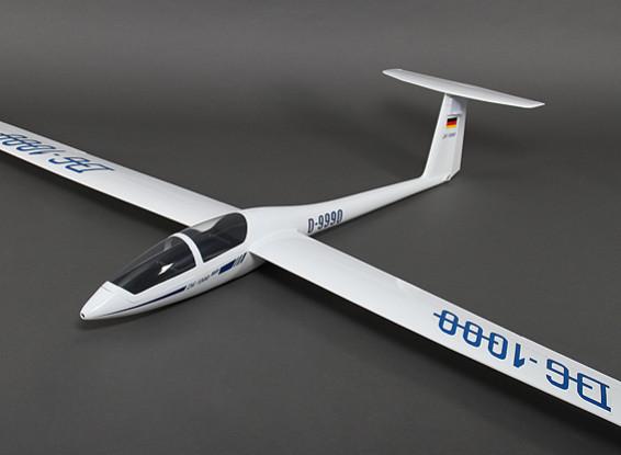 DG-1000 Composite Sailplane 2650mm w / Luchtremmen / intrekken Main Wiel / Geardoors (ARF)