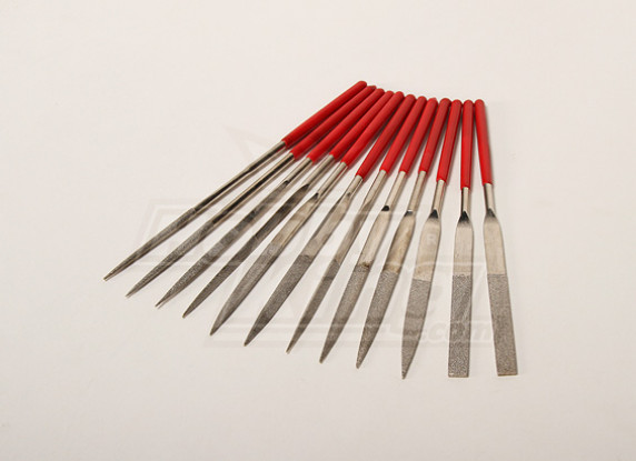 Diamond Needle Files (hout / Plastic / Alloy)