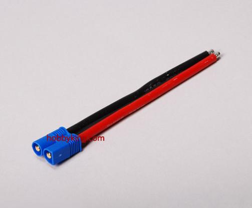 EC3 Male - 12AWG Wire 10cm