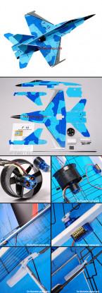 F-18 Fighter Jet w / Brushless EDF ARF