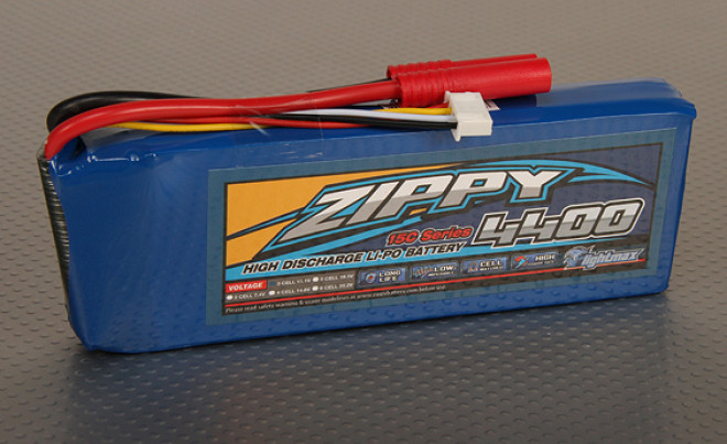 ZIPPY Flightmax 4400mAh 3s1p 15C