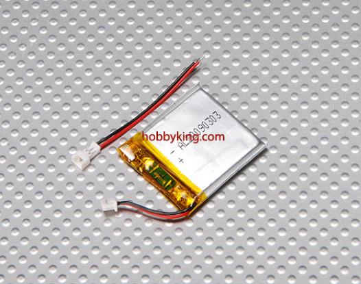 FCO? Batterij Lipo 220mAh w / stekker en stopcontact