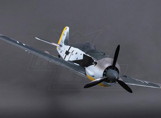 H-King FW190 w / Lights Flaps Zet vrij Gear-Deuren 1200mm (PNF)