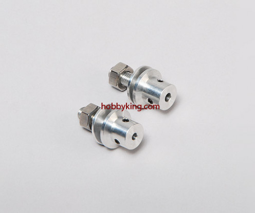 Prop adapter w / Steel Nut 1 / 4x28-M4mm as (Grub Screw Type)
