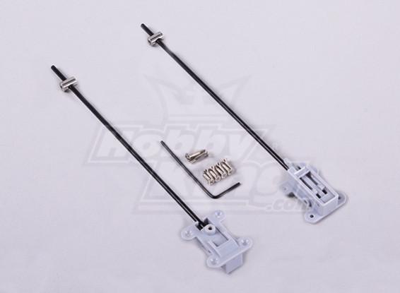 GWS Reinforced mini trekken gear mount (PAIR)