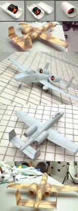 GWS A-10 Warthog Thunderbolt (w / Twin 55 EDF) Gray