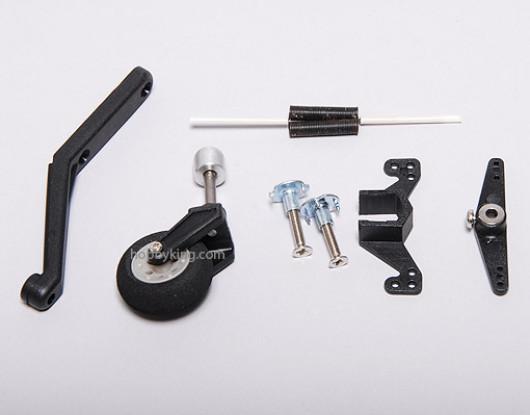 Tail Wheel System. w / Besturing & Spring 20-60 Size