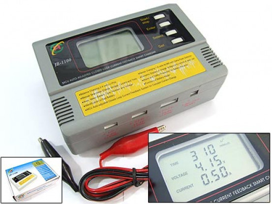 JB 1100 Digital Smart Lipo / NiMH Charger w / Reparatie