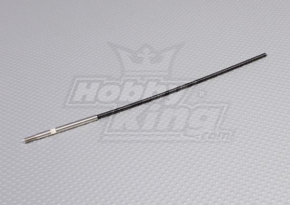 4mm flexibele as (207mm)