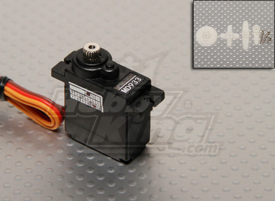 D933MG Digital Metal Gear Servo 2.0kg / 12g / 0.10sec