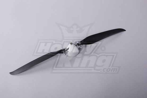 Folding Propeller W / Alloy Hub 45mm / 4mm Shaft 13.5x7 (1 st)