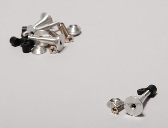Extra sterke controle Horns 2.8x24mm (5 stuks)
