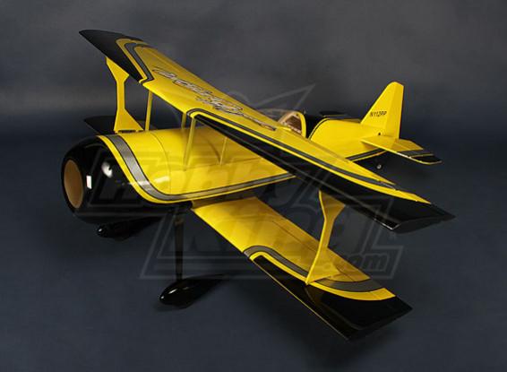 HobbyKing® ™ Pitts-S12 Python (geel / zwart) EP 1370mm (ARF)