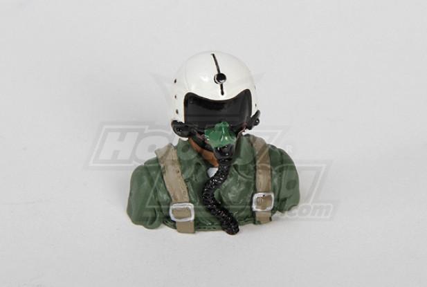 UltraDetail Schaal F-14 Pilot Model (31x30x20mm)