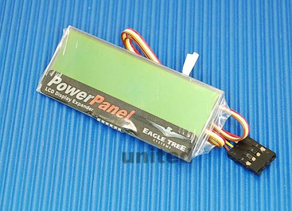 MicroPower PowerPanel LCD-scherm