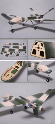 Predator UAV 74in Spy Plane ARF