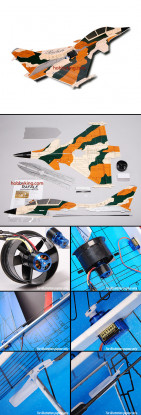 Rafale Fighter Jet w / Brushless EDF ARF