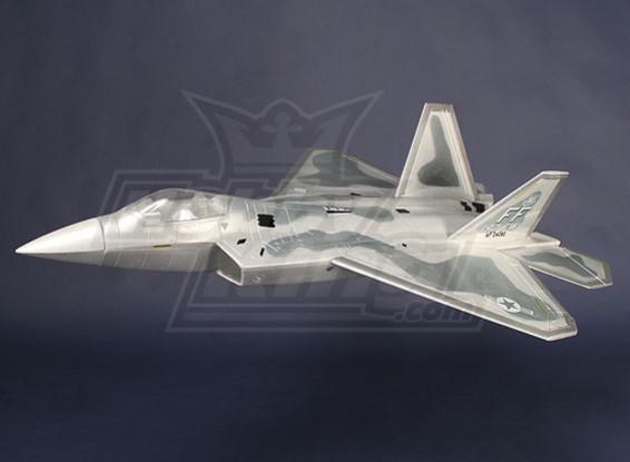 F-22 straaljager EPO 70mm EDF (ARF)