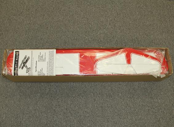 Kras / DENT - Super Stearman tweedekker Balsa 1120mm (ARF)