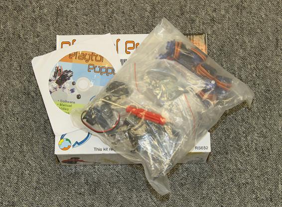 Kras / DENT - Playful Puppy Robotic Kit met ATmega8 Control Board en IR-sensor