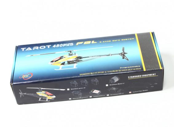 Kras / DENT - TAROT 450 PRO V2 FBL KIT Silver
