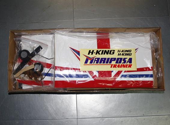 Kras / DENT - HobbyKing ™ Mariposa Slowflyer Trainer Balsa 1120mm (ARF)