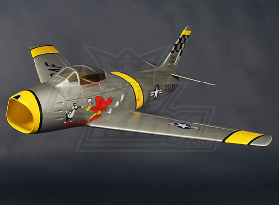 F86 USAF 90mm EDF Jet 1038mm Glasvezel (ARF)