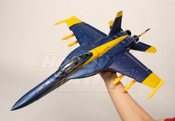 Mini F-18 EDF Fighter Jet ARF Kit alleen (EPO)