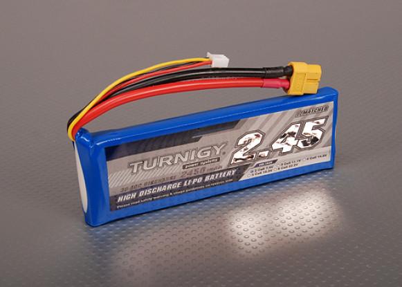 Pack Turnigy 2450mAh 2S 30C Lipo