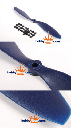 TGY Slowfly Propeller 11x7 Black (CCW) (1 st)