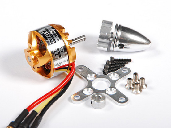Turnigy 28-22-A 1600Kv Outrunner (Vgl: 2204)