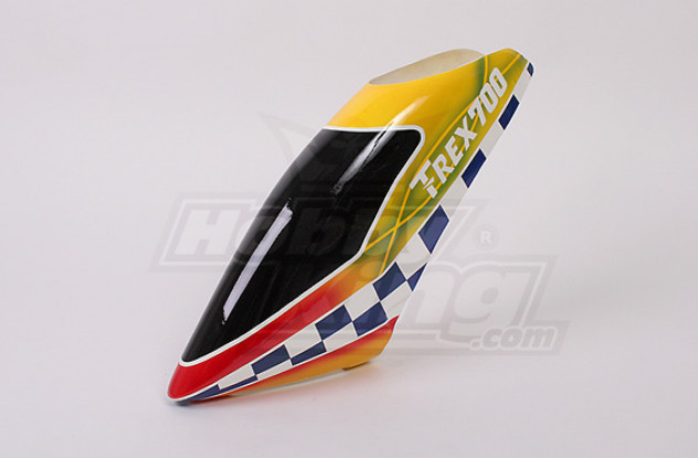 Glasvezel Canopy voor Trex-700 Nitro