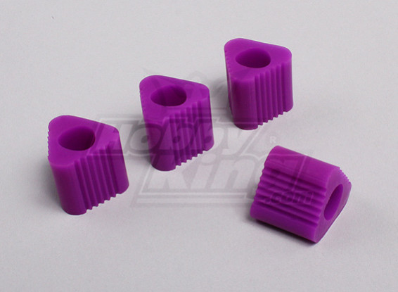 Driehoekige Heli Landing Pad - 9mm (Purple)
